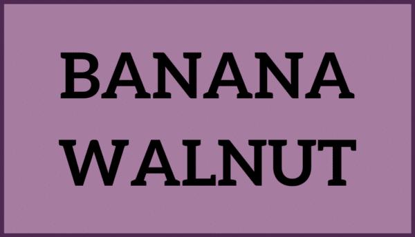Banana Walnut Ice Cream