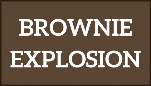 Brownie Exposion Ice Cream
