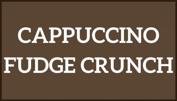Cappuccino Fudge Crunch Ice Cream