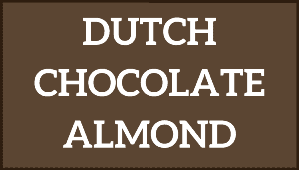 Dutch Chocolate Almond Ice Cream