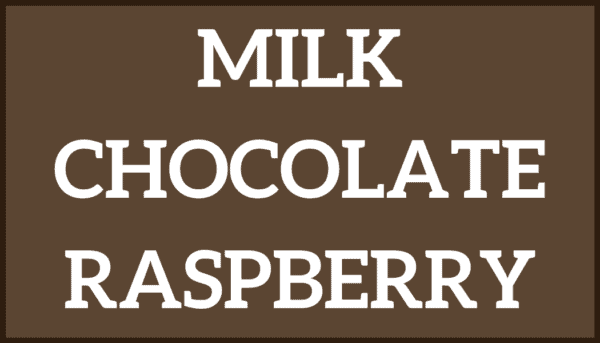 Milk Chocolate Raspberry