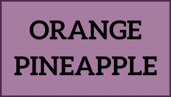 Orange Pineapple Ice Cream