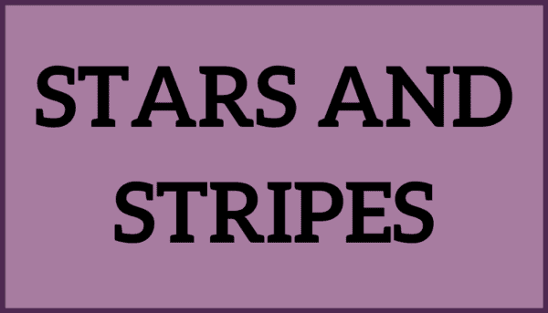 Stars and Stripes Ice Cream