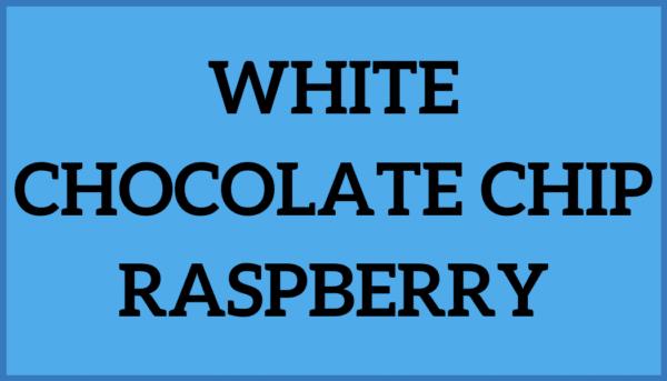 White Chocolate Chip Raspberry